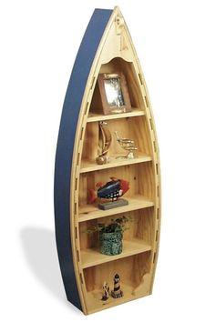 19-W2431 - Boat Shelf Woodworking Plan - medium.