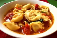 Hearty Tortellini and Chicken Soup - Meal Planning Mommies