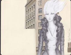 Vanja Kosanic - myMoleskine - Fashion illustration 2