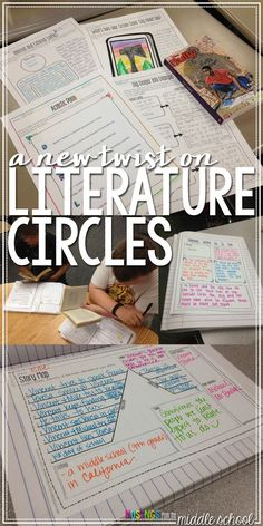 Looking to breathe some life into your lit circle routine? Check out th. 7th Grade Ela, 6th Grade Reading, Middle School Reading, Middle School English, Sixth Grade, Fourth Grade, Third Grade, Middle School Literature, Seventh Grade