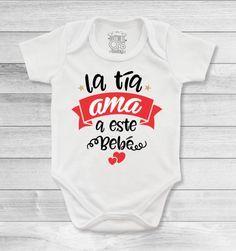 Bodys o mamelucos para bebé con mensajes espectaculares para las tías y tíos más amorosos Baby Girl Onsies, Baby Shawer, Baby Shirts, Family Shirts, Baby Boy Outfits, Cute Baby Clothes, Baby Bodysuit, New Baby Products, Maternity Fashion