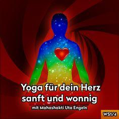 """""""Diese Übungen helfen dir wundervoll leicht zu entspannen, du fühlst dich sanft und wonnig, bis voller Lebensfreude. Wonne ist DER angestrebte Gemütszustand der Yogis, und wird auf Sanskrit Ananda genannt."""""""