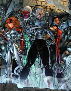StormWatch by Jim Lee Comic Book Artists, Comic Book Characters, Comic Artist, Comic Character, Comic Books Art, Character Design, Image Comics Characters, Dc Comics, Jim Lee Art