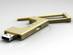 number locked USB drive... you know, for all your super top secret files