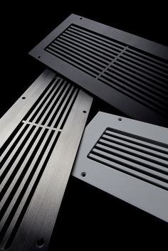 Linear bar grilles constructed from 11 gauge steel, inch thick. Return vent has inch lip; install by dropping into floor opening. Floor Vent Covers, Wall Vent Covers, Floor Register Covers, Home Depot, Air Return, Ac Vent, Air Diffusers, Custom Metal, Sistema Solar