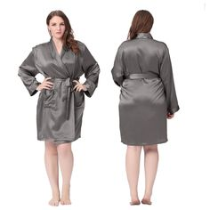 Luxury #Plus Size Silk #Robe are Soft, Comfy And So Fun For All Ages.| Lilysilk