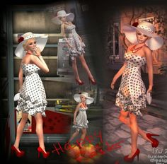 Second Life Freebies and more: Lucky Luzie