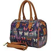 Koson-Man Women's Fashionable Candy Handbags Shouder Bags(Purple-Butterfly) Vintage Butterfly, Purple Butterfly, Butterfly Print, Handbags For Men, Cheap Handbags, Tote Handbags, Purple Bags, Louis Vuitton Speedy Bag, Pu Leather