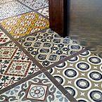 suelo hidraulico patchwork cocina 1