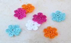Cómo tejer flores en crochet en 5 minutos