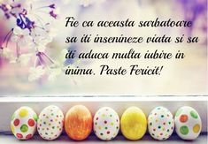 Cele mai frumoase Imagini si Mesaje de Paste. Holidays And Events, Great Photos, Happy Easter, Decoration, Easter Eggs, Birthdays, Inspirational Quotes, How To Make, Romania