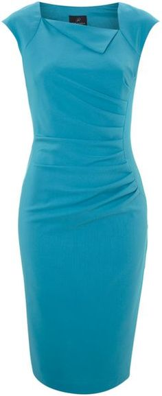 Adrianna Papell Side Pleat Sheath Dress $93