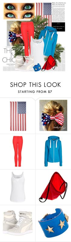 """""""Happy Memorial Day"""" by batmanni ❤ liked on Polyvore featuring Subtle Luxury, MANGO, True Religion, NIKE, Puma and Givenchy"""
