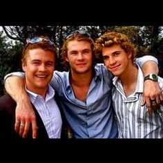 Despite being the least recognisable Hemsworth brother, Luke was actually the first to get into acting.