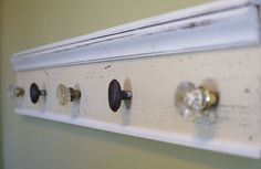 coat rack... possibly for guests' coats & purses in our foyer