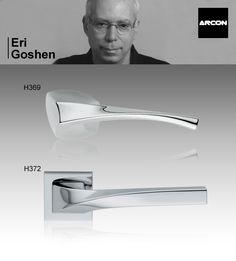 Manillas para puerta H369 y H372 de Eri Goshen para ARCON