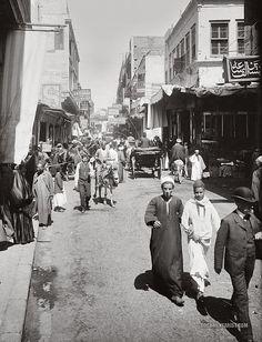 Muski Street: Cairo, Egypt 1900-1920 | Documentarist | Historic Photo Archive