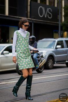 Milan Fashion Week SS 2016 Street Style: Diletta Bonaiuti