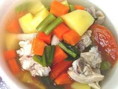 Sup Ceker Berikut Ini Ada Cara Membuat Video Resep Sup Ceker Ayam Bening Asli Sajian Sedap Pak Min Untuk Anak Bayi 1 Tahu Resep Sup Resep Resep Makanan Sehat