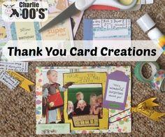 thank you card using Roald Dahl @docrafts #papercraft