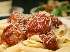 Can't wait to try this!  Fake-out Meatball Parmeson