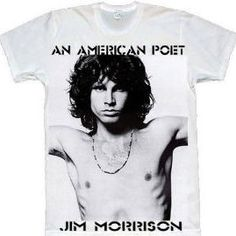 Jim Morrison Tshirt on sale now at http: www.hennie-t.myshopify.com/collections/frontpage