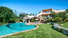 Luxury 4 bedroom villa with heated pool and seaviews in Lagos, Algarve, Portugal