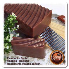 Chocolate handmade soap