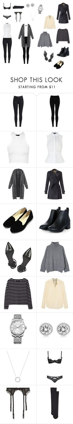 """TINE"" by idagrundfor on Polyvore featuring M&S Collection, Topshop, Alexander Wang, Burberry, MANGO, STELLA McCARTNEY, Calvin Klein, Michael Kors, L'Agent By Agent Provocateur and Wolford"