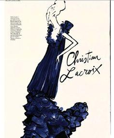 Christian Lacroix.