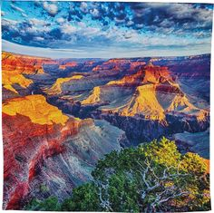 Grand Canyon Sunset Scenic Tapestry
