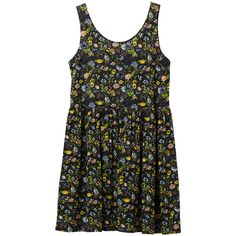 Monki Sionne dress (405 ARS) ❤ liked on Polyvore featuring dresses, vestidos, tops, shirts, print perfection, monki, summer print dresses, pattern dress, summer dresses and mixed print dress