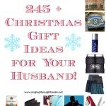 245+ Christmas Gift Ideas for Your Husband!