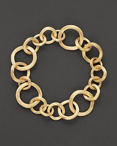 I Love Jewelry, Gold Jewelry, Jewelry Accessories, Fine Jewelry, Jewelry Design, Jewelry Art, Jewlery, Gold Link Bracelet, Link Bracelets