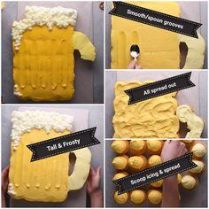 Beer Cupcake Pull-Apart Cake