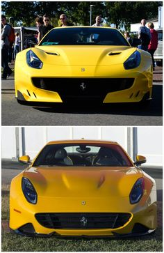 Photo : The F12 TDF & the One-Off Ferrari SP275 RW Competizione