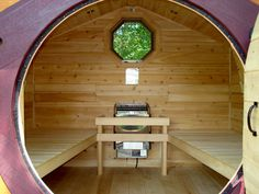 I need one of these for extra sleeping quarters for guests! Hobbit Hole playhouses, chicken coops, sheds, cottages, saunas, more! - Home
