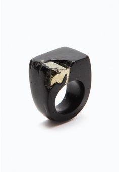 Jade Mellor Fool's Gold Ring no. 3