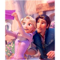 All Disney All The Time ❤ liked on Polyvore featuring disney, tangled, rapunzel, backgrounds and princess