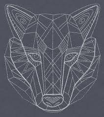 geometric wolf - Recherche Google