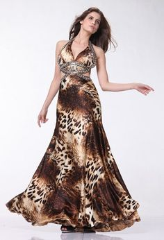Leopard prom dresses are a good choice for prom ninght. We all know that f55c7fdd3086