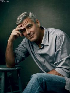George-Clooney!!!  What can I say. There never is an unbecoming photo of this MAN,  man oh man, oh my heart!