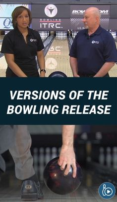 Watch as bowling coaches Rod Ross and Kim Terrell-Kearney demonstrate different release styles used today. Choose a release that works best for you. Bowling Tips, Bowling Ball, Coaches, Things To Know, Tutorials, Watch, Sports, Hs Sports, Trainers