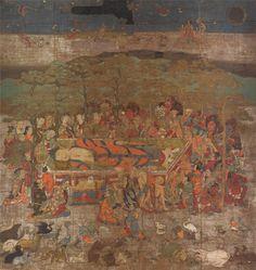 Painting of the Buddha Attaining Nirvana I