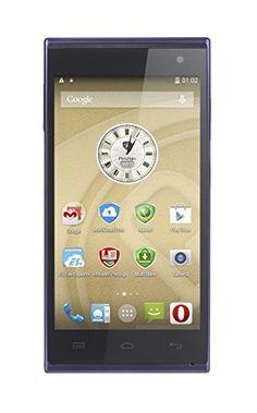 Prestigio PSP5455-Duo-Blue – Smartphone libre Android (pantalla 4.5″, cámara 13 Mp, 4 GB, 1 GB RAM), morado