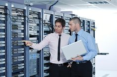 Picture of group of young business people it engineer in network server room solving problems and give help and support stock photo, images and stock photography. Door Supervisor, Supervisor Training, Network Monitor, Server Room, Training Academy, Learning Courses, Best Careers, Job Opening, The Province