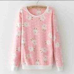"""Lovely flannel fleece pullover SE9226   Coupon code """"cutekawaii"""" for 10% off"""
