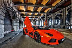 KSA Lambo Aventador in Paris