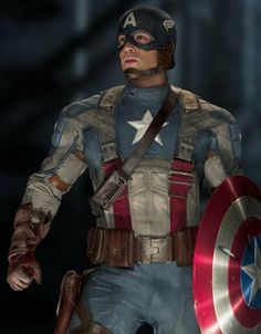 he can be my captain anyday.   CHRIS EVANS