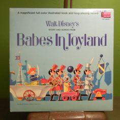 Disneyland record Babes in Toyland Vintage by VinylStandard, $20.00 @Lisa Robertson, must have!